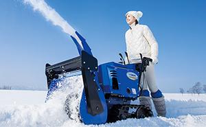 除雪機の予約開始についてのイメージ